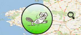 Carte des animation du printemps des castors